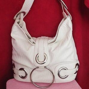 White Big Bubbha purse